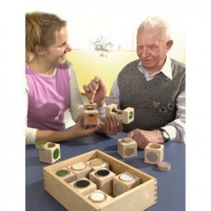 Sets para la estimulación sensorial en Personas WIP