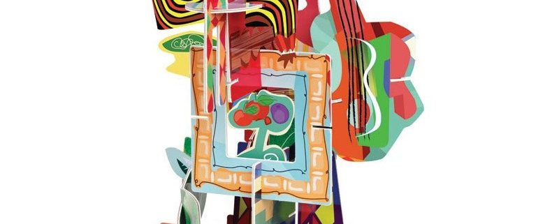 Escultura cubista manualidades en Personas WIP