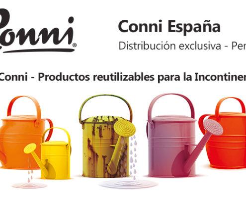 Conni productos reutilizables para incontinencia en Personas WIP