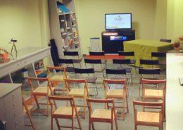Sala formación Personas WIP