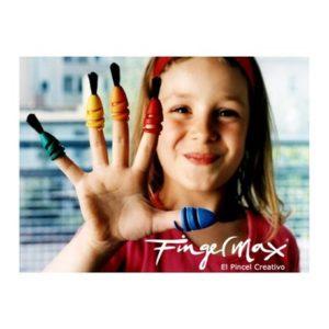 Fingermax, el pincel de dedos en Personas WIP