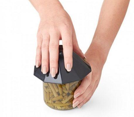 Abridor de frascos ergonómico para artritis