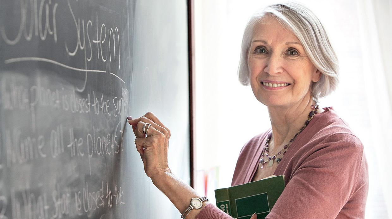 Aprender un idioma: terapia del lenguaje para las personas mayores